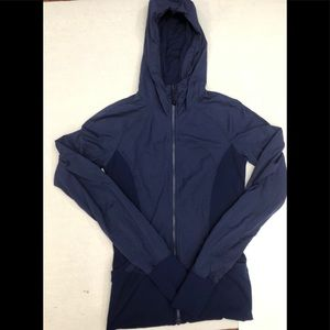 Lululemon Zip up jacket hoodie Size 6